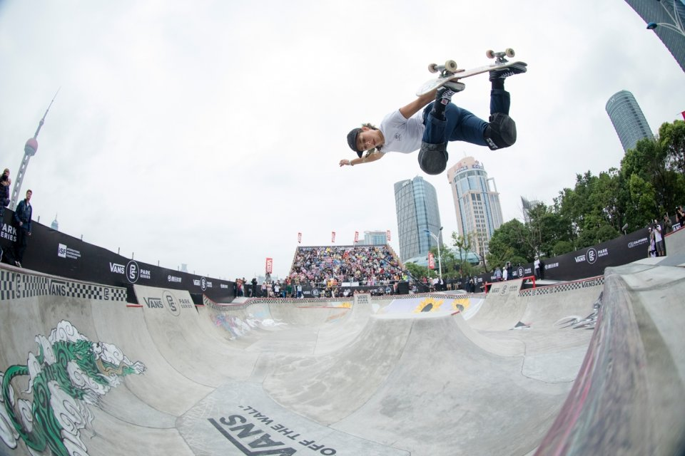 Pro Skateboarder Lizzie Armanto, 2017 Vans Park Series World Championships in Shanghai, China  Photo: Anthony Acosta</span>