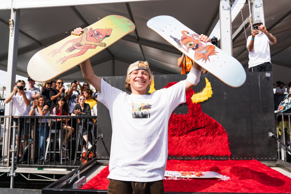 CJ Collins turns pro for Toy Machine  Photo: Anthony Acosta</span>