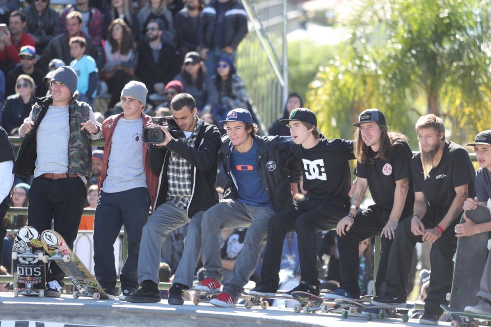 """Everyone loves each other at these contests, its cool because we all go and hang out and skate"" Tom Schaar  Photo: Patrick O'Dell</span>"