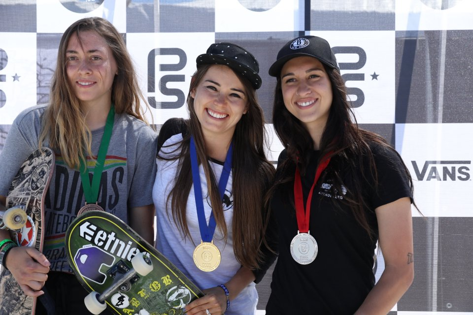 3rd Place - Catcherine Marquis, 1st Place - Amelia Brodka & 2nd Place - Shani Bru  Photo: Anthony Acosta</span>