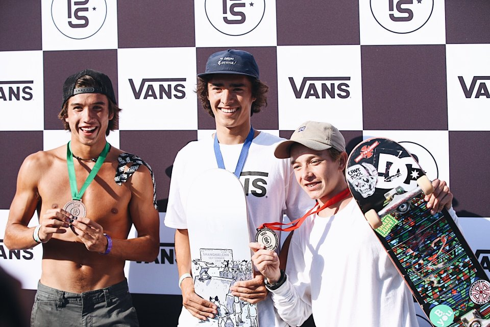19 year old Patrick Ryan (USA) has won the Americas Continental Championships and will be heading to Shanghai, China to fight it out at the VPS World Championships. Luiz Francisco (BRA) & Heimana Reynolds (USA) rounded out the top 3.  Photo: Kris Evans</span>