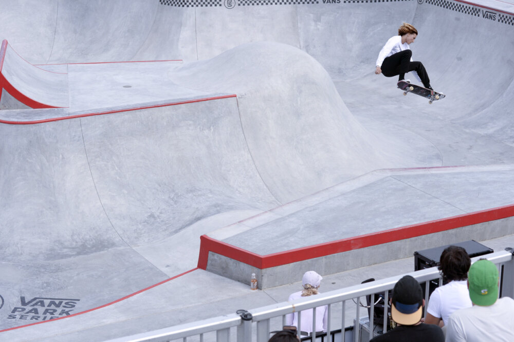 Curren Caples Frontside Ollie Michael Burnett