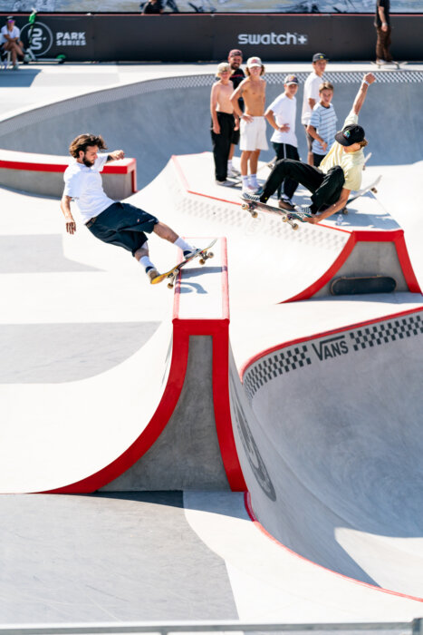 Ronnie Sandoval & Curren Caples Anthony Acosta