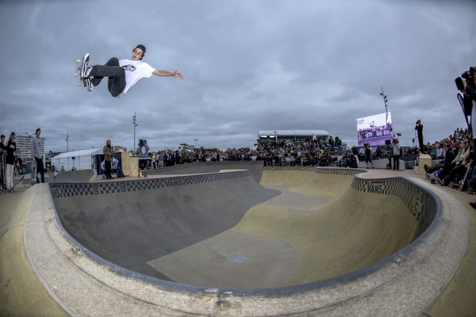 Cory Juneau working it at the first qualifyer of 2016 at St Kilda Skatepark, Melbourne, Australia  Photo: Sky Guyatt / Transition Photography</span>