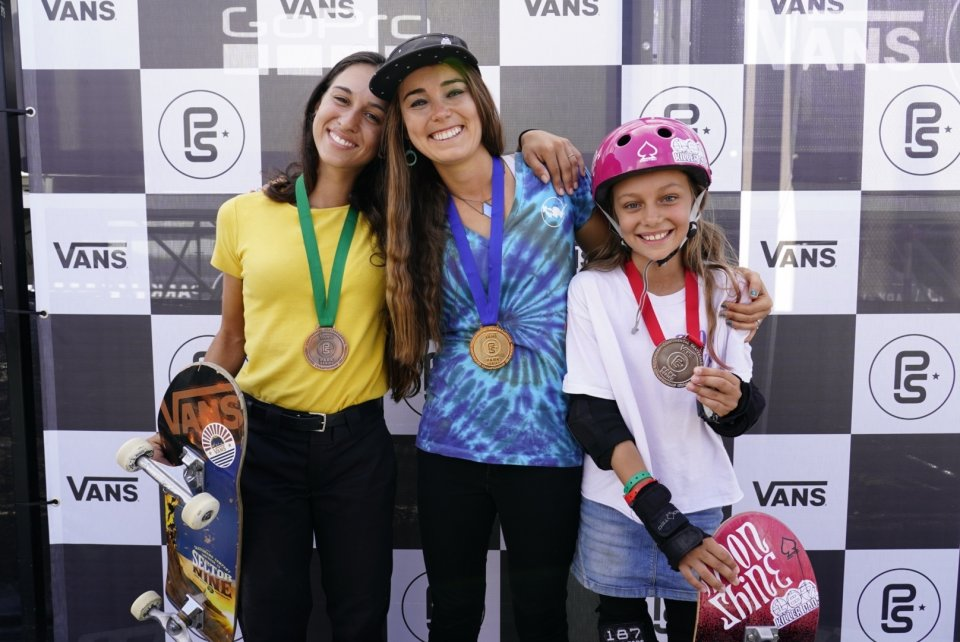 2018 Women&#039;s Continental Championships Podium: 3rd Shani Bru, 1st Amelia Brodka, 2nd Lilly Stoephasius  Photo: Dan Mathieu</span>