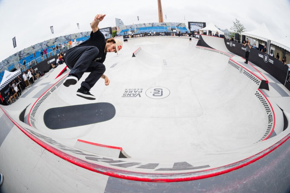 Vincent Matheron 360 flip in Shanghai, China  Photo: Anthony Acosta</span>